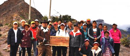 tibetan women in jiabi village established the mentsunmo climate action carbon neutral forest on the sacred mountain - climate adaptation.