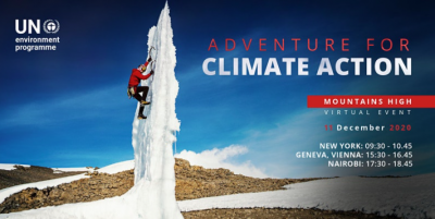 How do mountains inspire climate action?